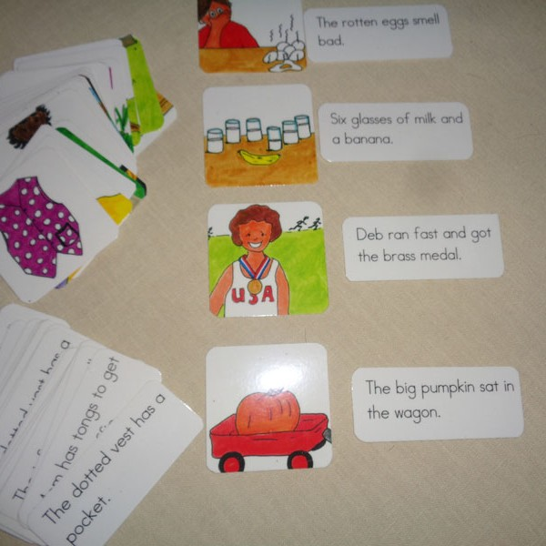 Sentences with mixed vowels