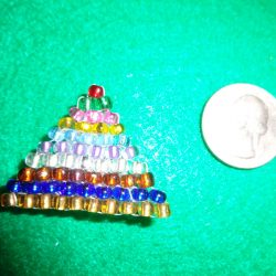 Montessori Bead Stair Pin
