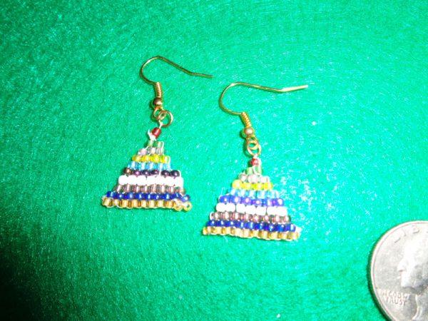 Montessori Bead Stair Earrings